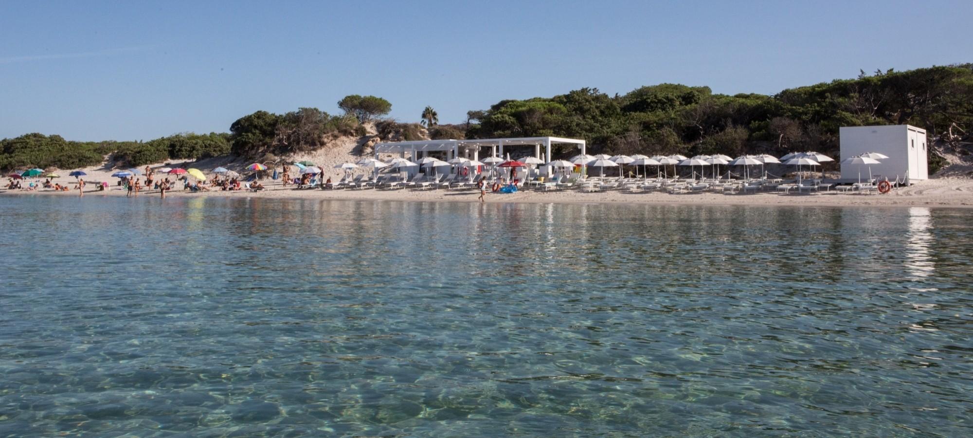 Stabilimento balneare Rosanna sulla Spiaggia di Maria Pia